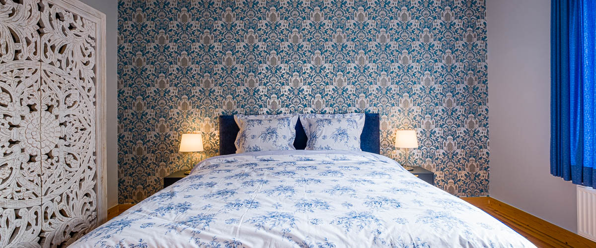 Villa Louise Oostende slaapkamer